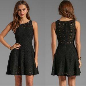 BB Dakota Renley Sleeveless Lace Circle Dress